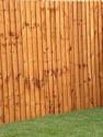 logs, landscaping, fencing & decking feather edge fencing